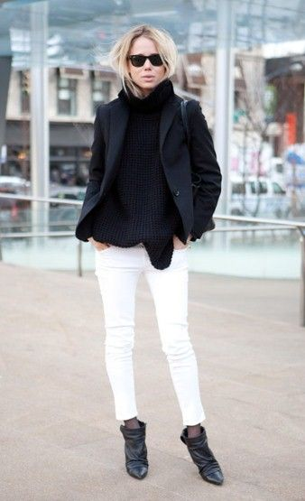 85 best images about White Jeans on Pinterest