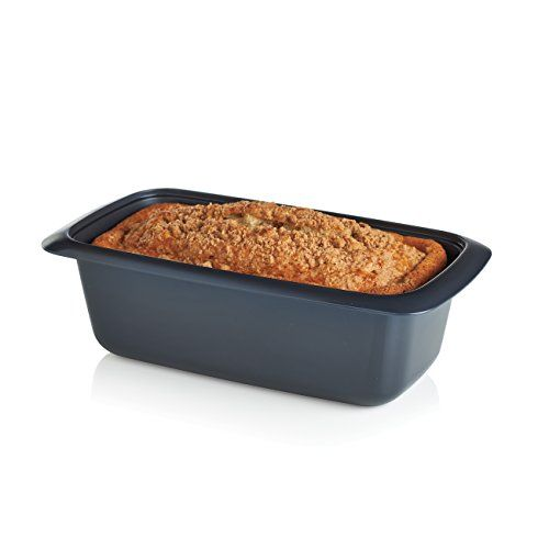 Made from material that will change what you think is possible UltraPro Ovenware is safe for the oven microwave fridge and freezer and is beautiful on the table. The UltraPro 1.75-Qt./1.8 L Loaf Pan is ideal for loaves of all kinds: breads desserts meatloaves cottage cheese loaves, small batches of roasted vegetables and so much more. •In Cosmos •Dishwasher safe •Limited Lifetime Warranty www.mytupperware.com/karendol