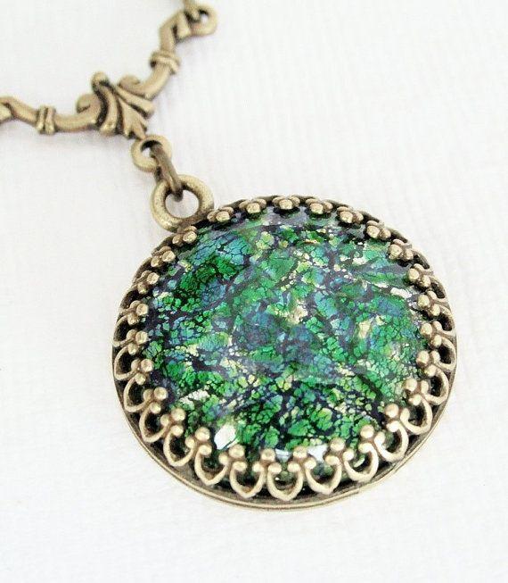 Green opal. Gorgeous