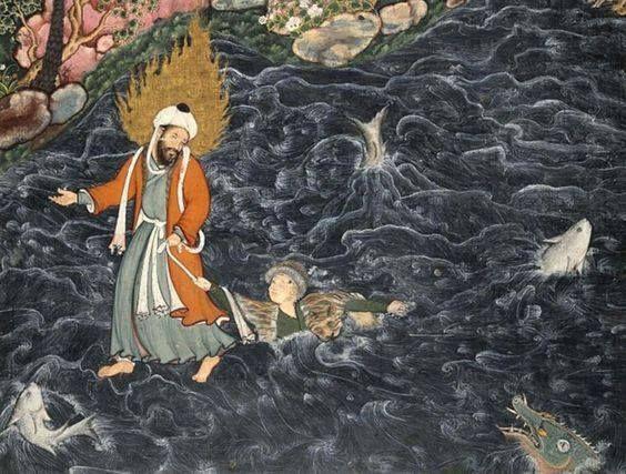 Il Khidr salva Nur ad-Dhar