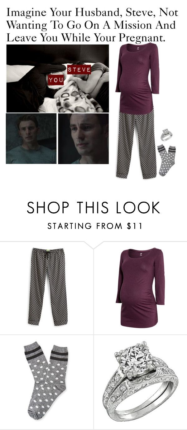 """Imagine Your Husband, Steve, Not Wanting To Go On A Mission And Leave You While Your Pregnant."" by alyssaclair-winchester ❤ liked on Polyvore featuring Vera Bradley, H&M, Aéropostale, imagine, Avengers, marvel, CaptainAmerica and steverogers"