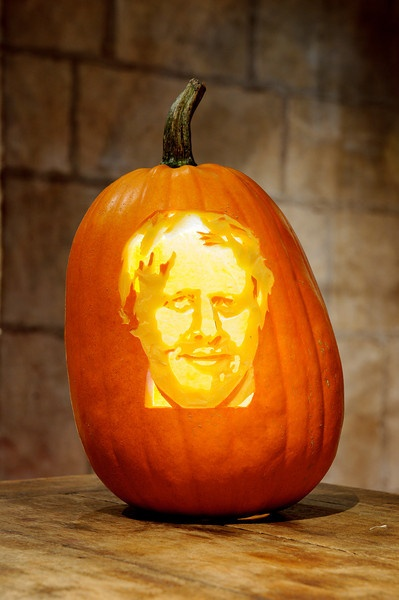 Obviously Not In A Pumpkin But Like Similar Style Boris