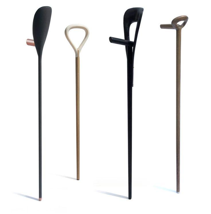 festival walking sticks by antoine lesur and marc venot - designboom | architecture & design magazine