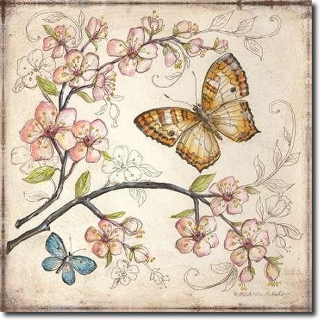 Cuadro Le Jardin Butterfly II - McRostie, Kate