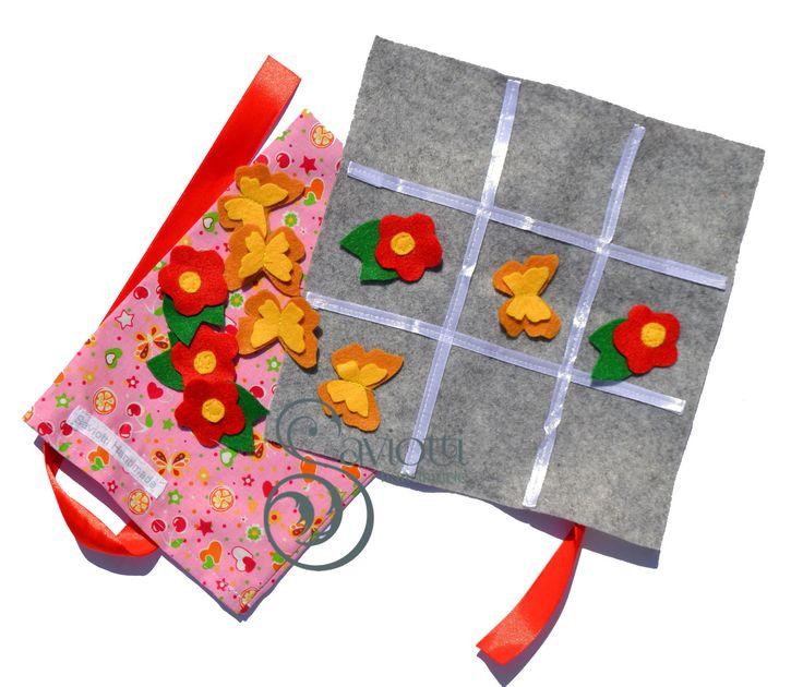 Gioco tris da viaggio : Giochi, giocattoli di saviotti-handmade