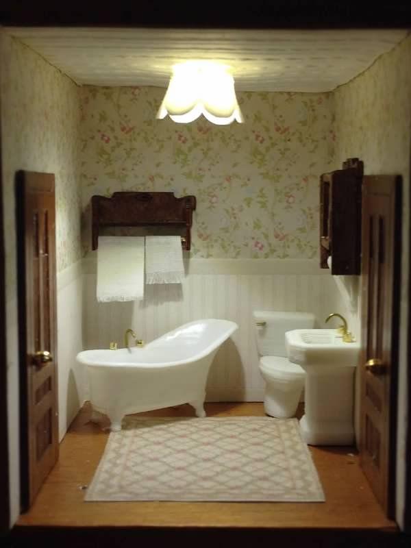 The 178 Best Dollhouse Bathroom Images On Pinterest
