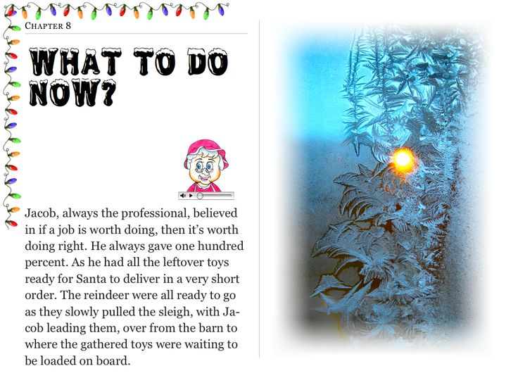 """Chapter 8 """"What To Do Now?"""" (my personal images are used in my #audio #ebooks for #Children 3-7 and #Illustrative #Poetry, available at: https://itunes.apple.com/ca/book/twas-year-that-santa-quit/id1161025863?mt=11 and www.jamesagrove.ca)"""