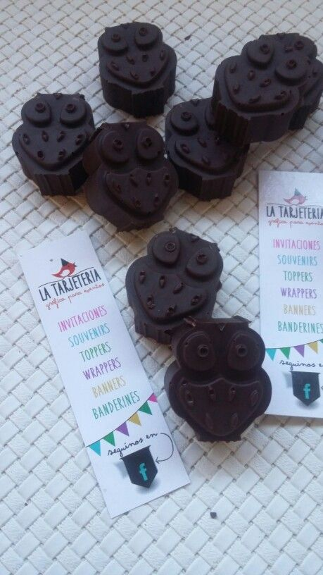 Buhos de chocolate! <3