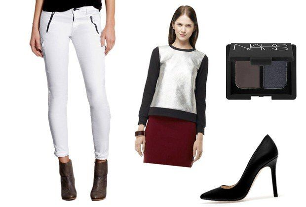 Six Non-Country-Club Ways to Wear White Jeans