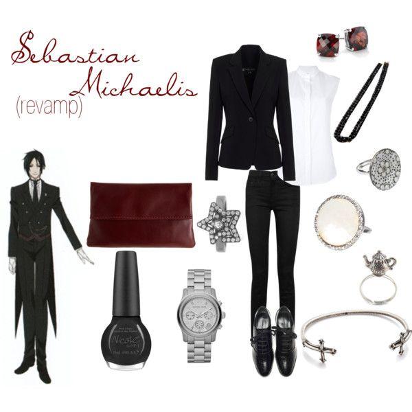 Modern cosplay sebastian michaelis black butler modern for Modern casual decor