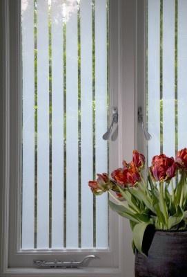 Stripes window film