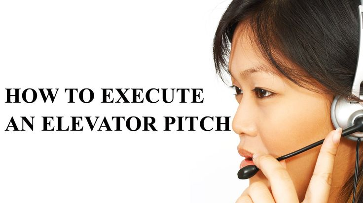 Learn how to execute a perfect elevator pitch and increase your sales. The absolute crucial thing for businesses and entrepreneurs is to generate more sales. The easiest way to increasing sales is by picking up the telep