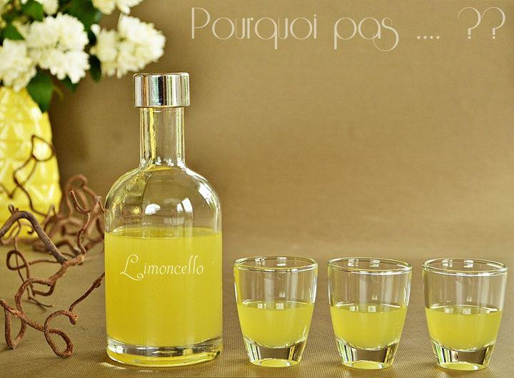 """""""Liqueur au citron""""est plutôt le nom qui conviendrait car pour s'appeler """"Limoncello""""  (qui est le nom déposé d'un produit IGP), il faut ..."""