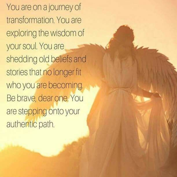 You are on a journey of transformation. You are exploring the wisdom of your soul.