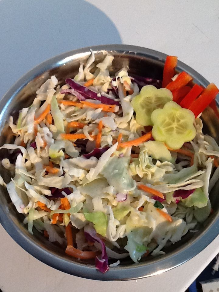 Creamy coleslaw #kymskonfections