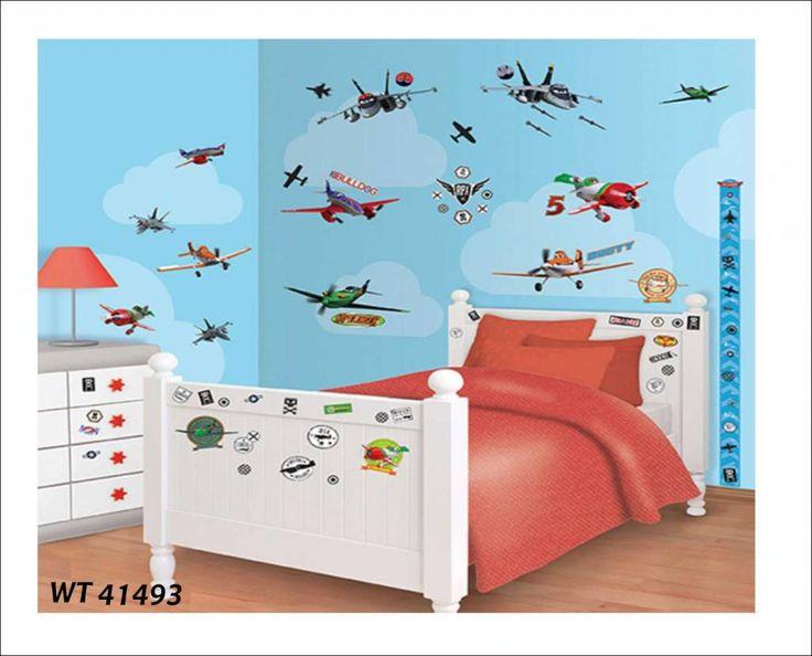 Good Fotobehang of wandstickers Decoratie stickerbox Planes Dusty en al de overige super vliegtuigen uit