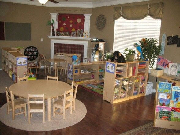 17 Best Ideas About Home Daycare Rooms On Pinterest