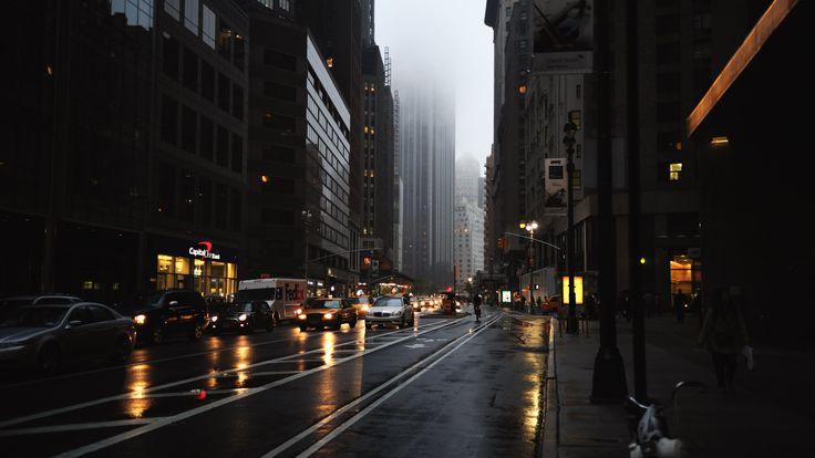 download New York City Street Wallpaper 3840x2160