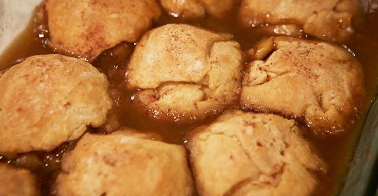 These brown sugar dumplings are simple to make and delicious.