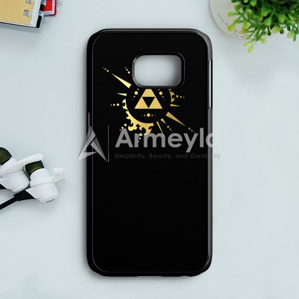 Eagle Triforce Black Legend Of Zelda Samsung Galaxy S7 Edge Case | armeyla.com