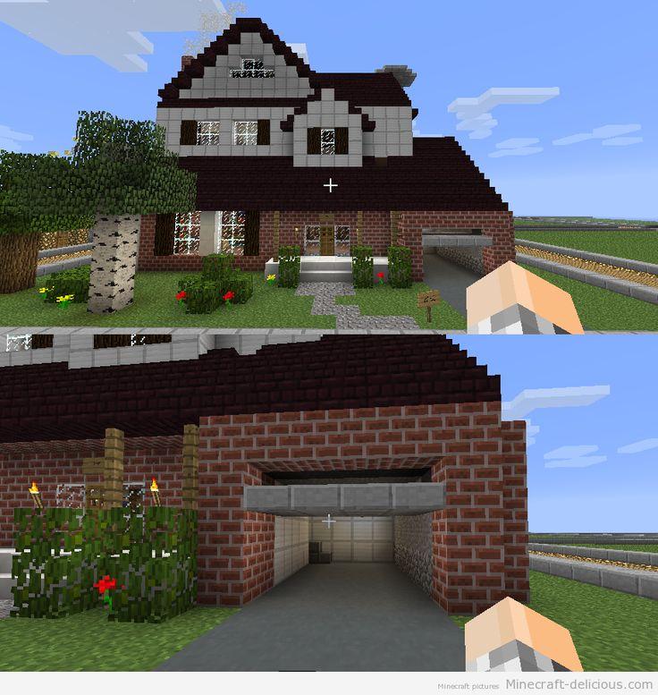 Minecraft Pretty House Auto Delicious Pinterest House