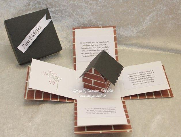 Magic Box zum Richtfest / Einzug von majascards auf DaWanda.com