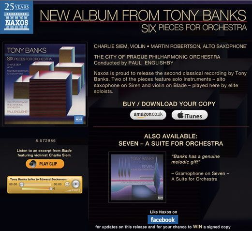 17 Best Images About Tony Banks amp Genesis On Pinterest Orchestra Latest Music And Steve Hackett
