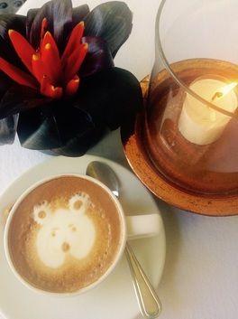 Coffee in Ubud during training workshop