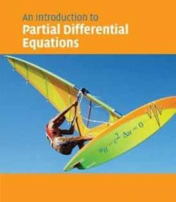 Partial Differential Equations: An Introduction By Bernand Epstein PDF