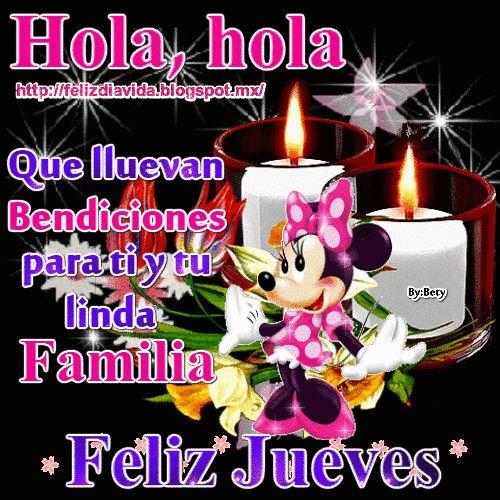 Hola, hola que lluevan Bendiciones para ti y tu linda familia Feliz jueves