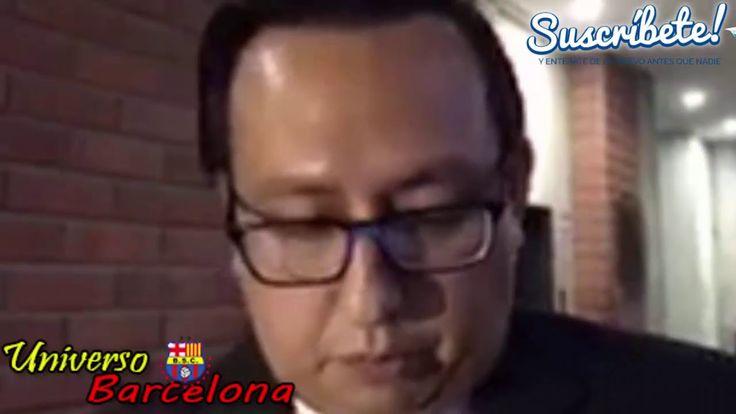 Abogado de Barcelona, Habla Sobre Derechos de Tv, Gol Tv, Hinchas Visita...