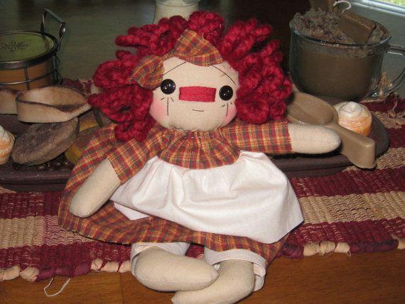 Raggedy Ann Raggedy Ann Doll Raggedy Ann Shelf Sitter