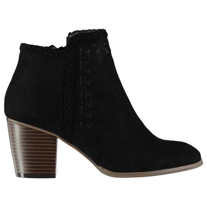 Rock and Rags | Rock and Rags Stitched Ankle Boots | Womens Boots