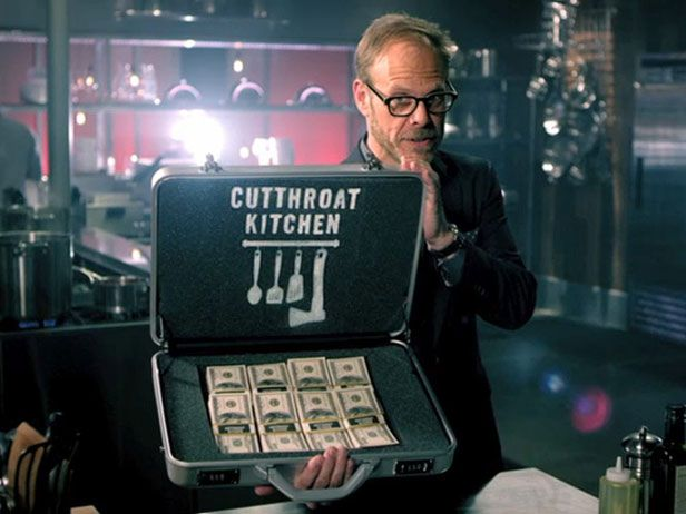 It pays to be devious in #CutthroatKitchen, an all-new show hosted by Alton Brown.