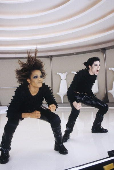 Picture of Michael Jackson & Janet Jackson