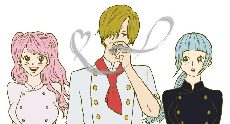 One Piece, Sanji, Purin, Cosette
