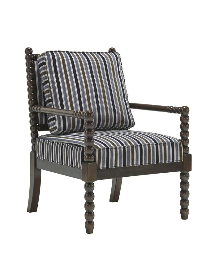 Navasota Vintage Casual Regal Fabric Accent Chair