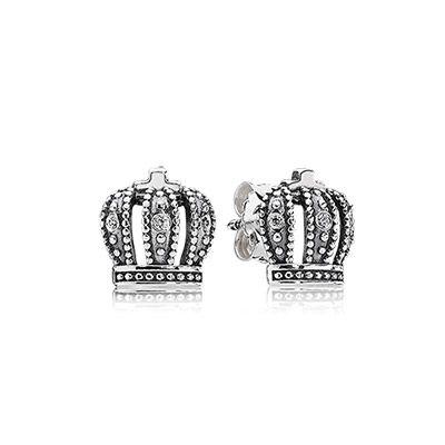 Royal crown #PANDORAearrings $45