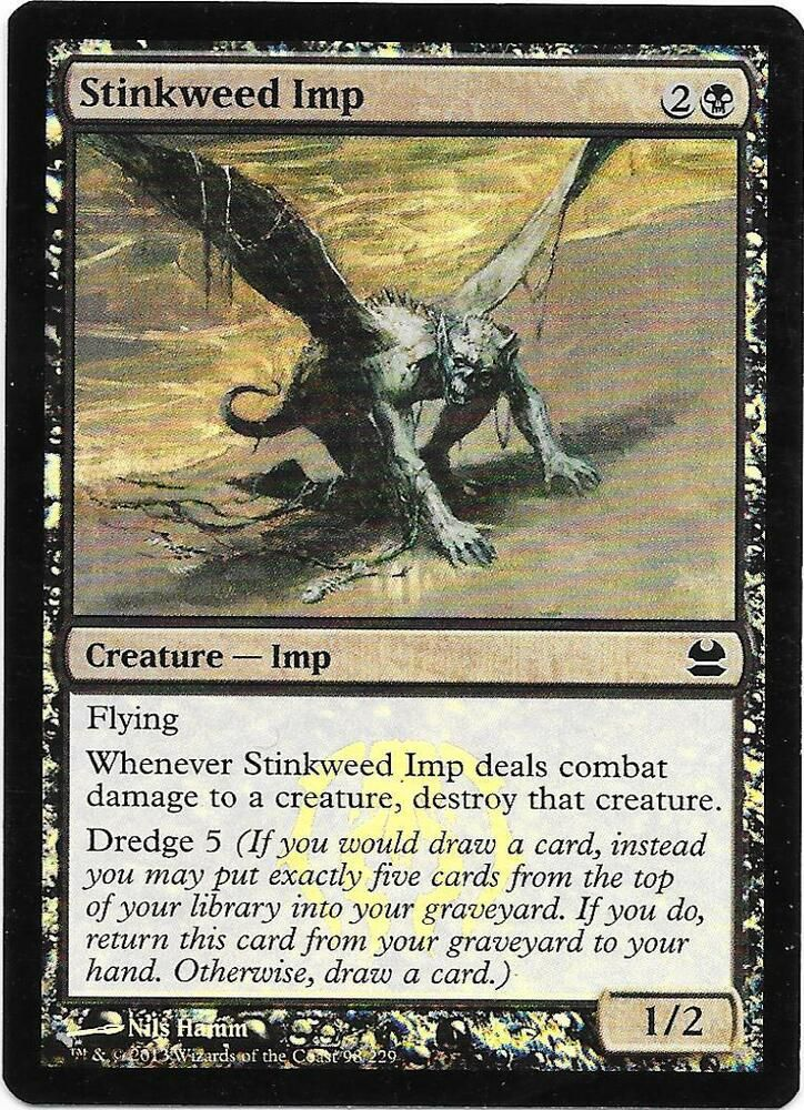 1x Stinkweed Imp MTG Modern Masters 2013 NM Magic Regular