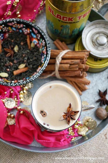 My space, my world. Ana Mari's world.: Masala chai