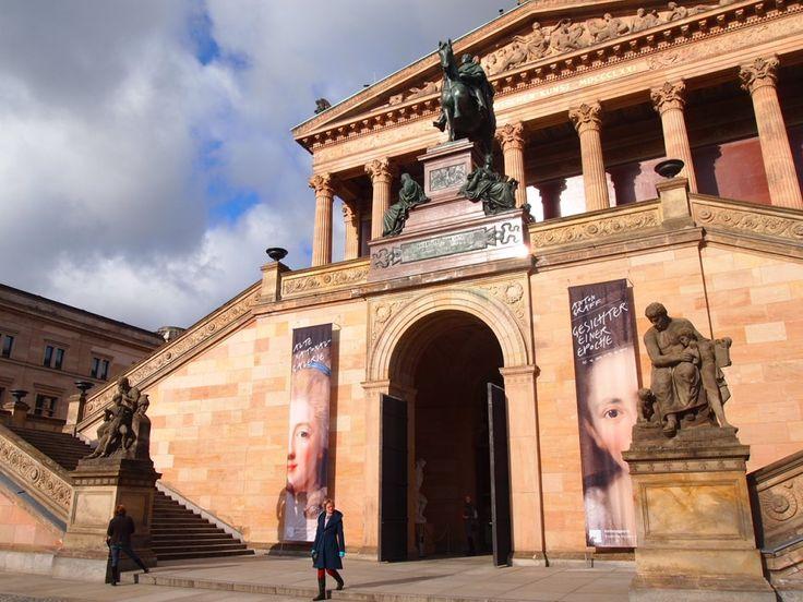 ベルリン観光で絵画を見るならここ!博物館島にある旧ナショナルギャラリー。ベルリン 旅行・観光おすすめスポット!