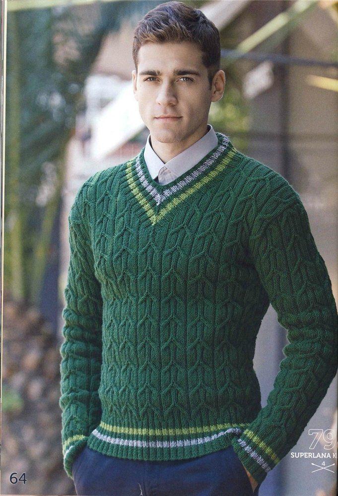 Узорчатый пуловер для мужчины. Обсуждение на LiveInternet - Российский Сервис Онлайн-Дневников