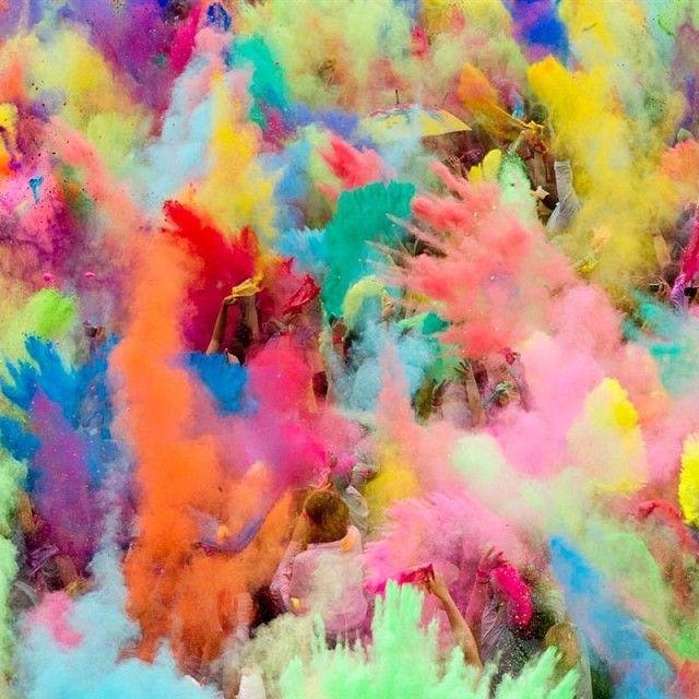 think colour!