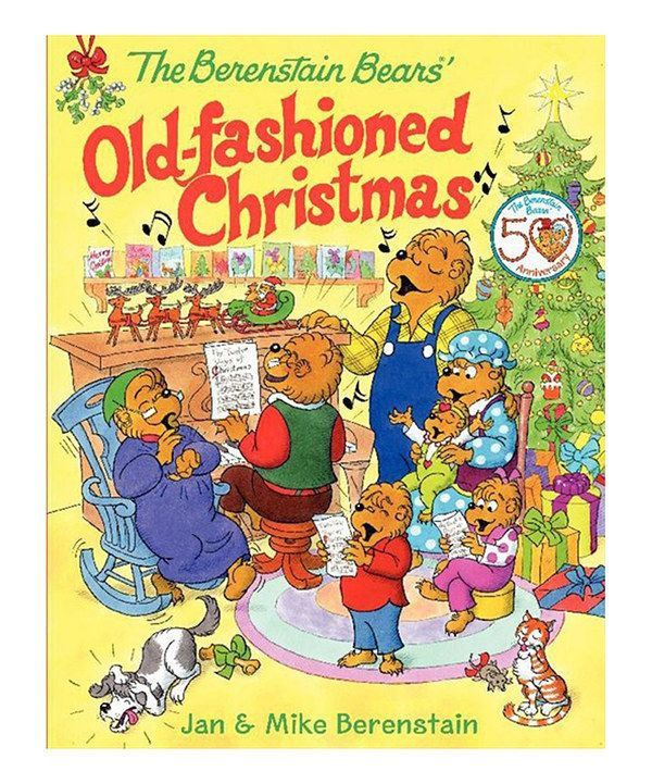 Look at this The Berenstain Bears' Old-Fashioned Christmas Hardcover on #zulily today!