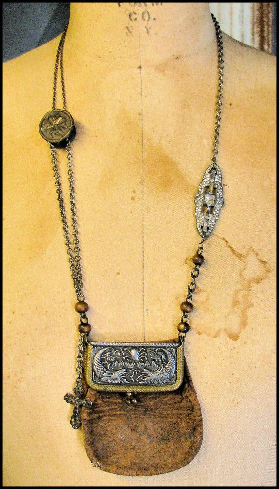 Victorian coin purse necklace, sold from ScatteredMoments' etsy shop...