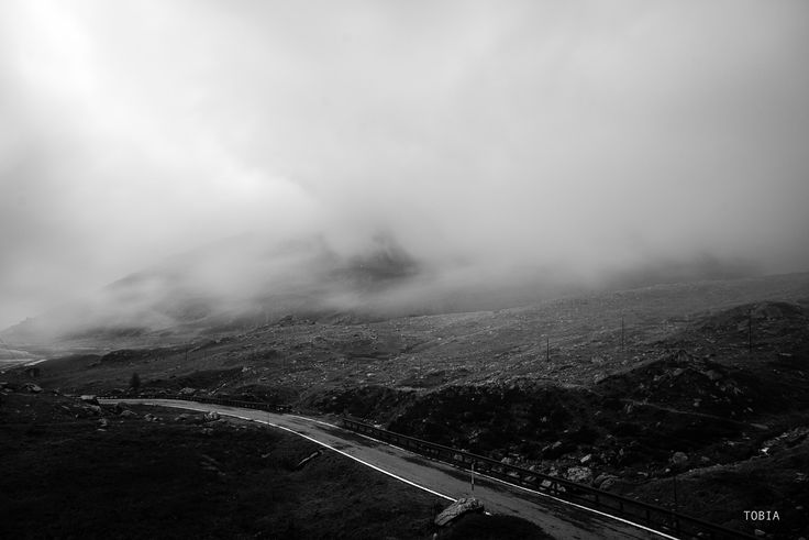 "Road to Montespluga - Italy, Valchiavenna road SS36 October 2014 © Tobia Scandolara   From my collection ""Silent Roads"" https://tobia_scandolara.500px.com/silentroads"