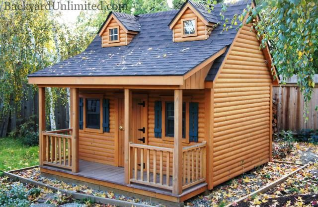 Amish Built Playhouses : Images about a dream playhouse on pinterest