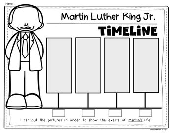 Timeline MEGA Bundle! Social Studies History for Kindergarten and First Grade. Rosa Parks, Dr. Seuss, Columbus, Lincoln, Washington, MLK, Ruby Bridges and MORE! Save on this MEGA bundle!