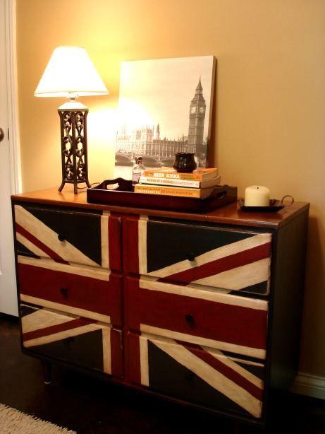The Pinterest Summer Challenge - Union Jack Dresser