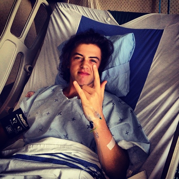 Mark McMorris, even adorable after surgery lol